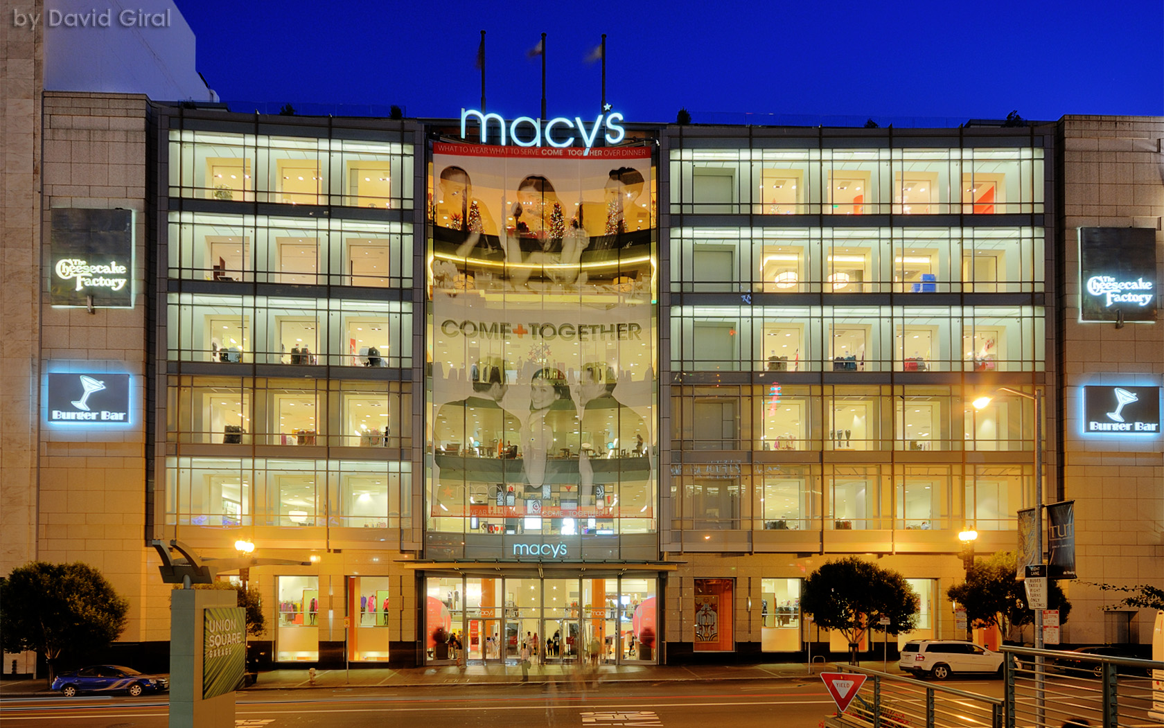 Macy's Store at the Blue Hour, San Francisco