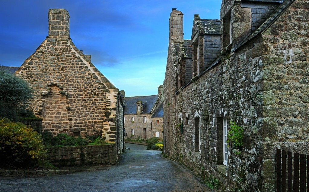 photo de Locronan, bretagne, France