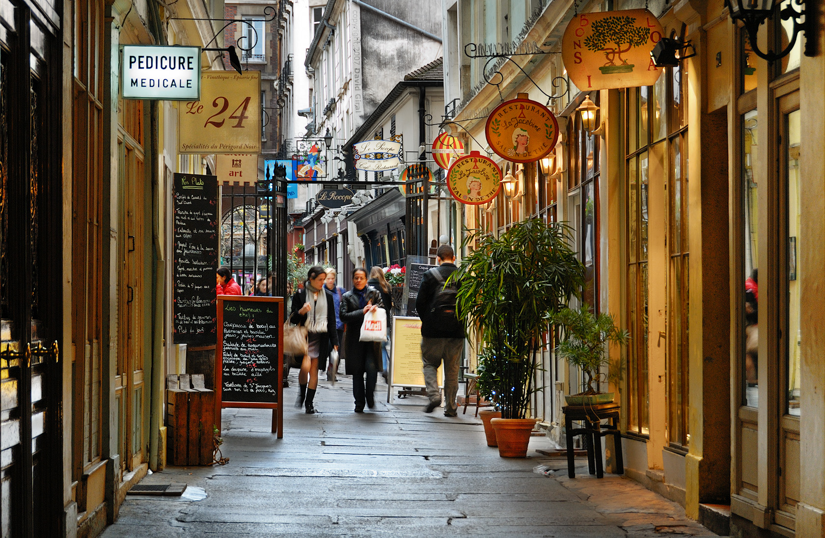 Exploring Paris: Cours du commerce Saint-Andr , Saint-Germain des Prs