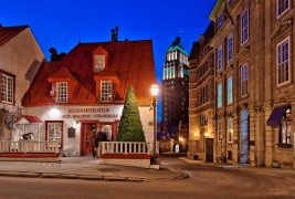 Exploring quebec city blue hour on the city heure bleue for Club piscine quebec city