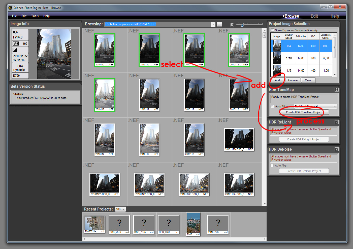 PhotoEngine gives weak results. hdr plugin photoshop cs3.