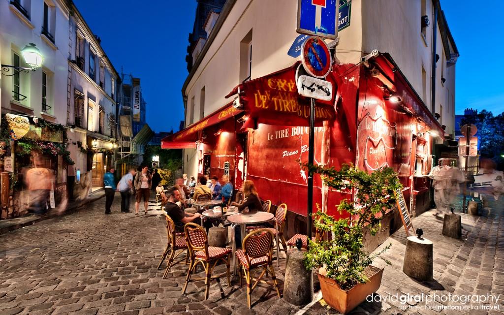 Travel Exploring Paris Montmartre Creperie Le Tire Bouchon