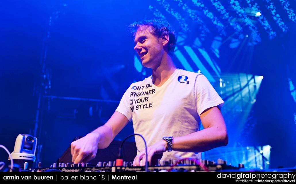 Top DJs: Armin Van Buuren at Bal En Blanc 18 in Montreal
