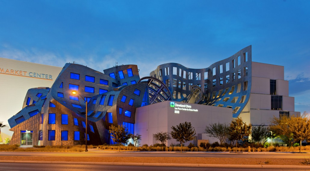 Exploring Las Vegas: Frank Gehry&#8217;s Cleveland Clinic Lou Ruvo Center for Brain Health