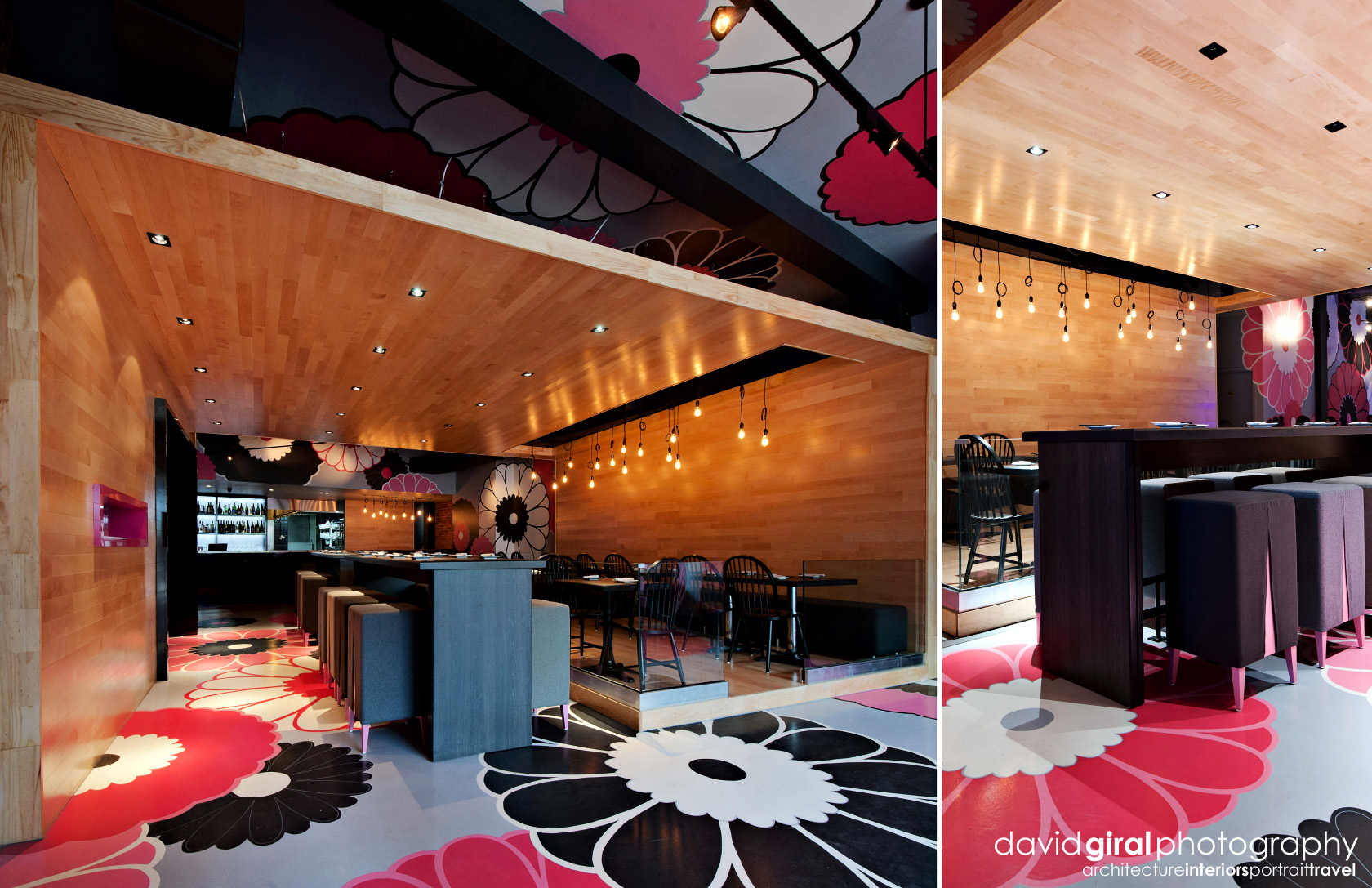 Restaurant Kinoya Montreal By Jean De Lessard - Interiors Photography