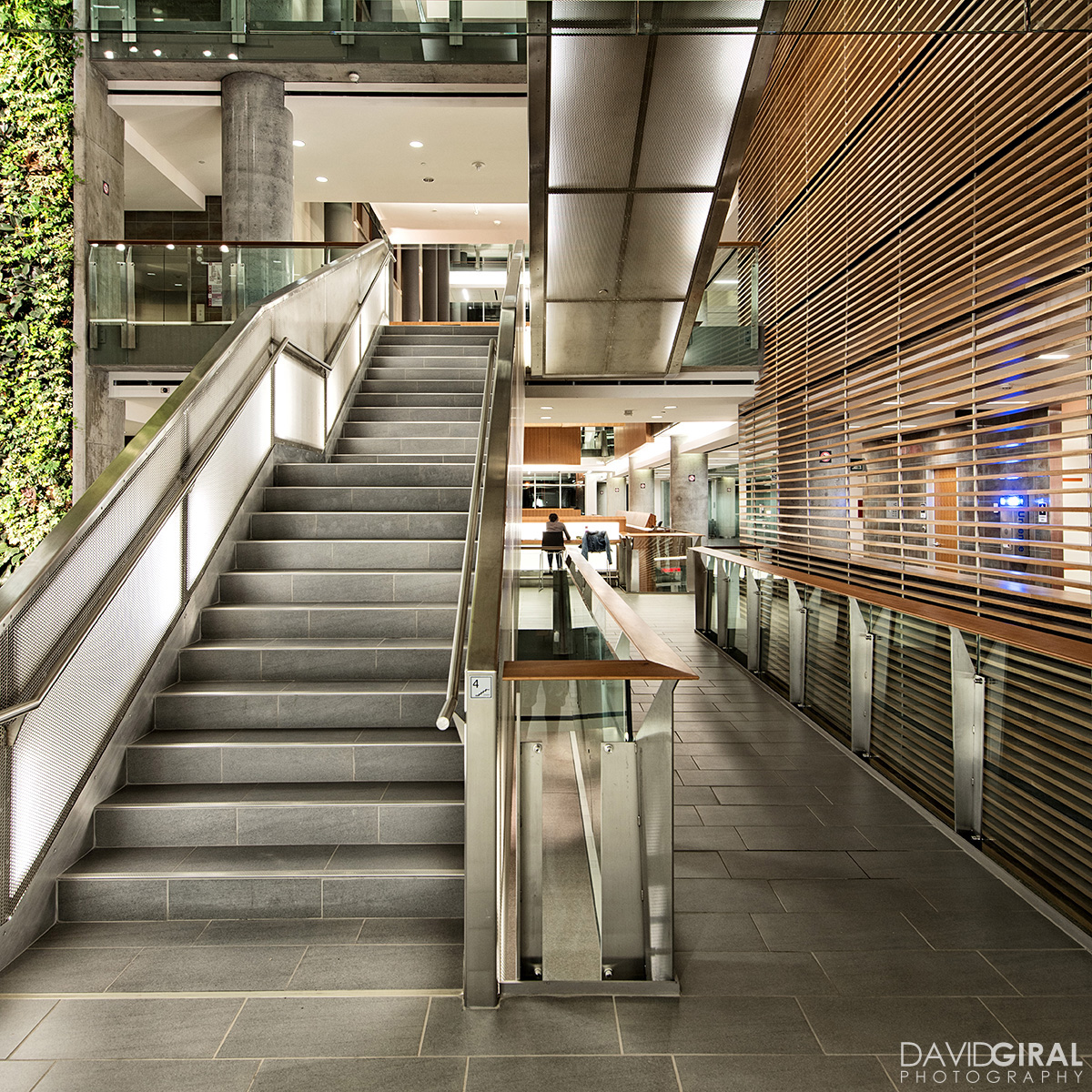 Interiors of Faculty of Social Sciences Building at the University of Ottawa by Diamond Shmitt and KWC Architects