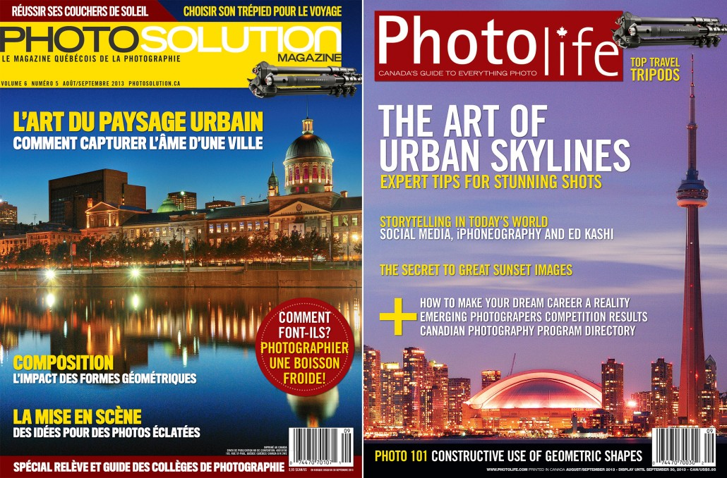Just Off The Press: Covers for PhotoLife and PhotoSolution Magazine