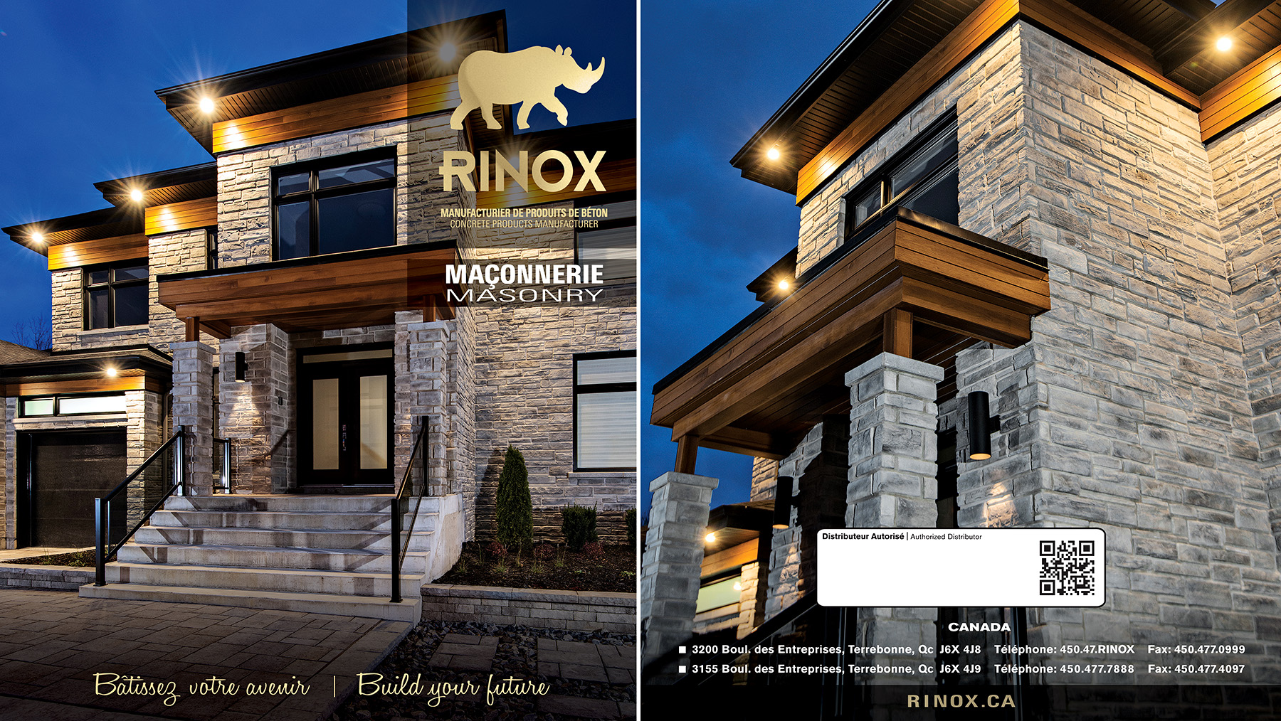 Commercial Architectural Photography : Cover Catalog Masonry Rinox 2014