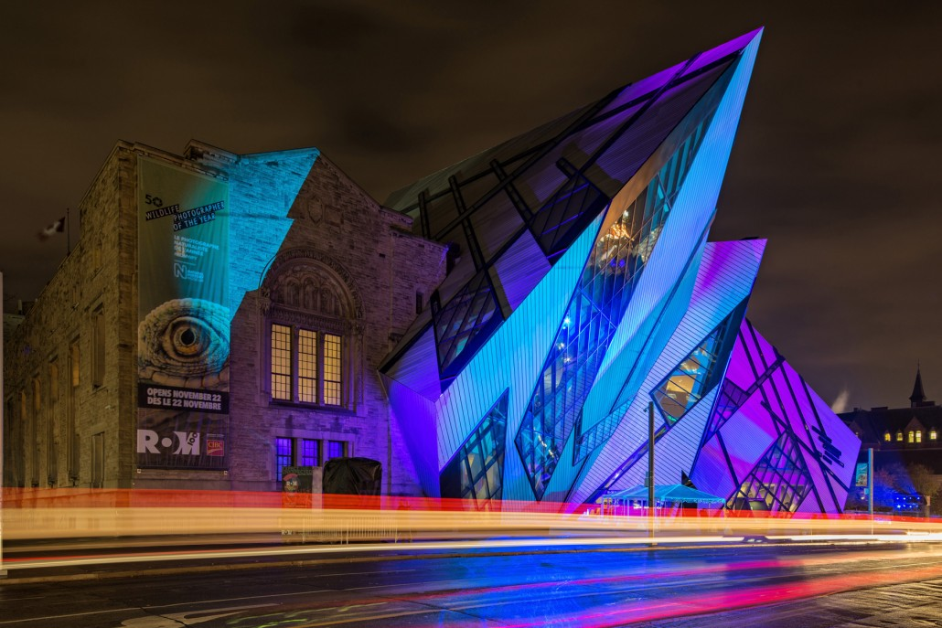 On Assignment: Toronto Royal Ontario Museum for Moment Factory