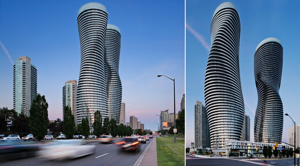 Exploring Toronto Architecture: The Absolute Towers – AKA the Marylin Towers by MAD Architects