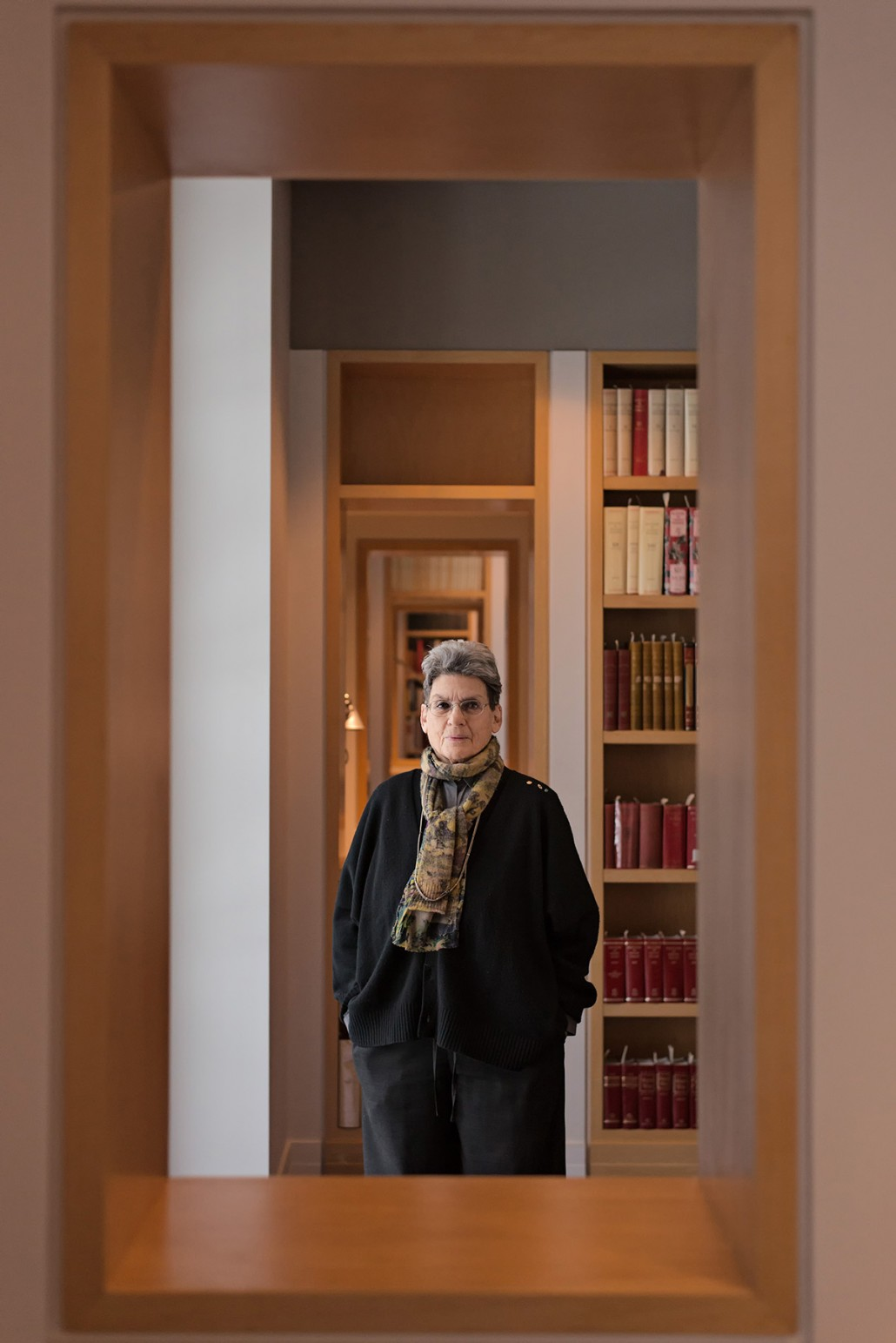 Just Off The Press: Editorial Portrait of Phyllis Lambert, President of Canadian Center for Architecture for Surface Magazine