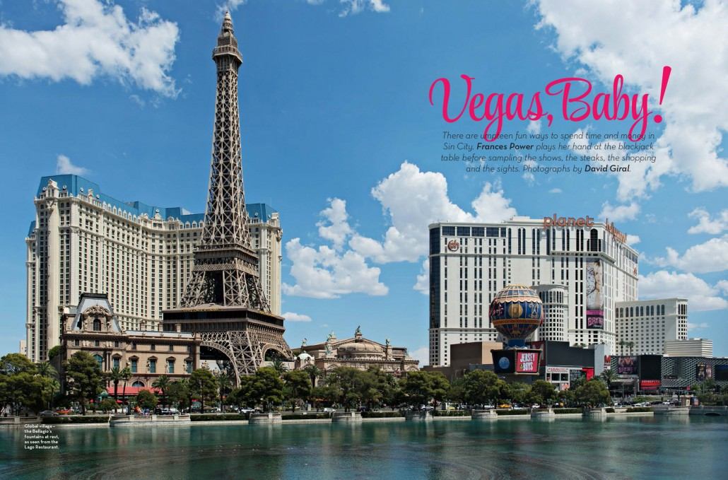 Just Off The Press: Travel Photography – Las Vegas Feature for Cara inflight Magazine