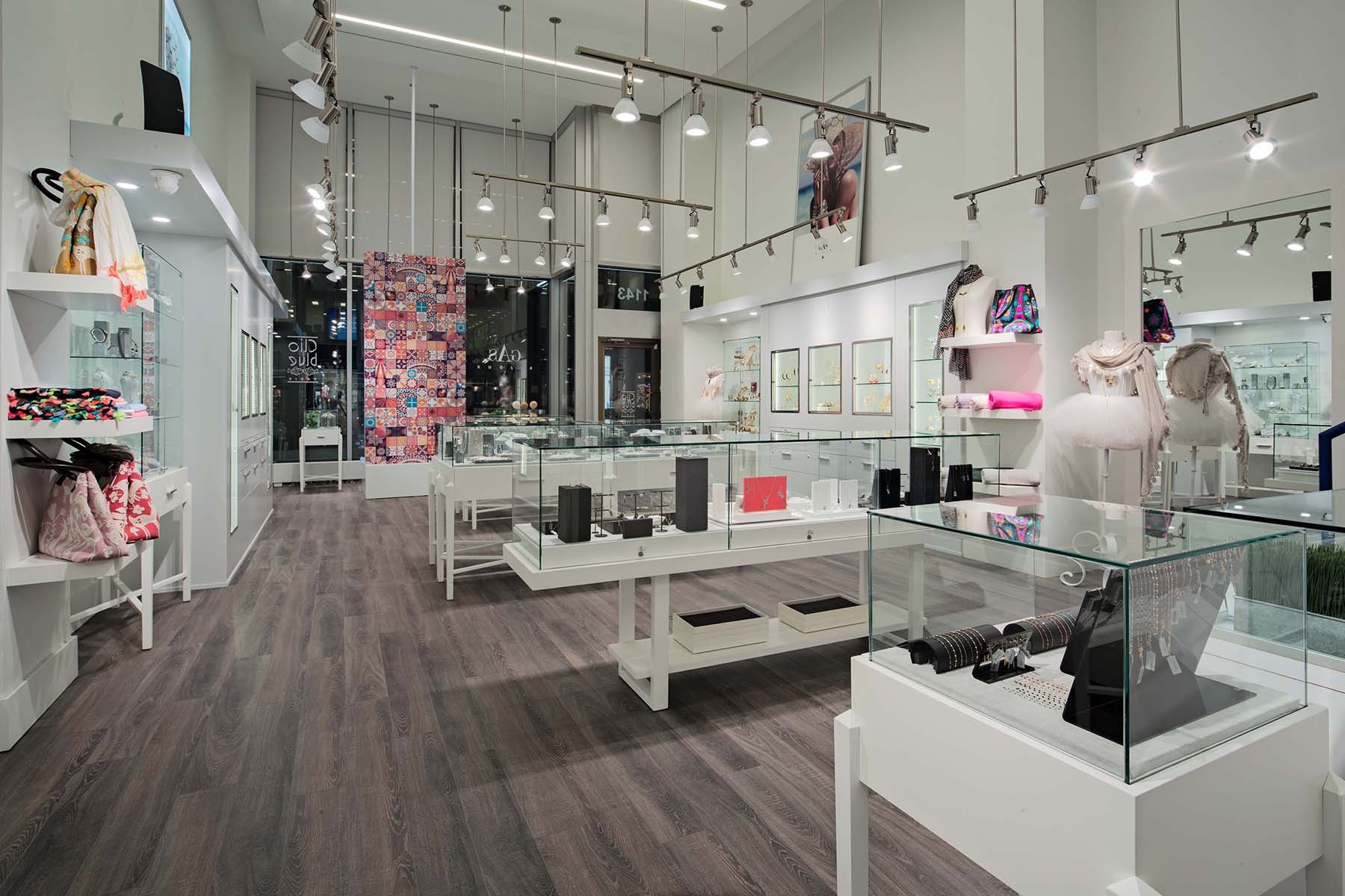 On Assignment Retail Interior Photography Accessories Store Montreal